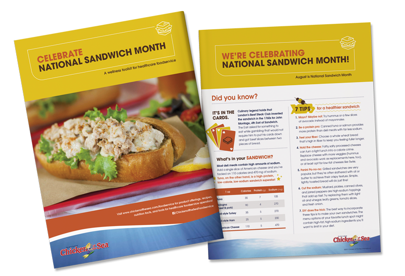 american sandwich month toolkit